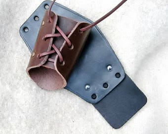 Leather Forearm protector - medium - [03 Schü-M]