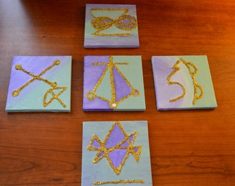 Reiki Art (Set of 5) Symbols