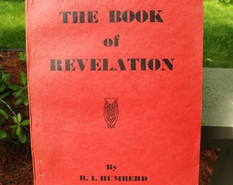 Vintage The Book of Revelation or The Unveiling of Jesus Christ by R.I. Humberd - circa 1940 - from DustyMillerAntiques
