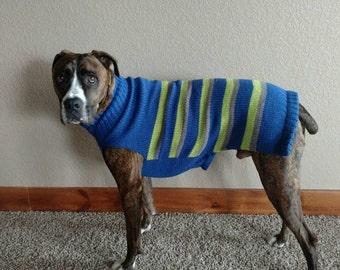 Seattle Seahawks xl-xxl dog sweater