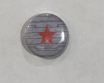 Winter Soldier Pinback Button