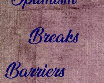 Optimism Breaks Barriers – Unknown 11x14 8x10 4x6