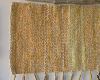 Hand woven wall tapestry, Wall Tapestry, fiber art, decorative WALL hanging