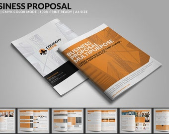 Business Proposal: Multipurpose PSD Template | Instant Download