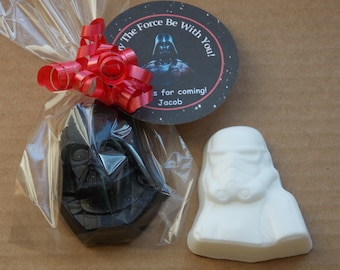 10 STAR WARS CHARACTER Soap {Favors} - Star Wars Birthday, Star Wars Party Favor, May The Force Be With You Favor, Galaxy Space Invaders