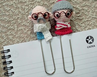 Crochet Pattern : Grandparent  [ PDF crochet pattern with Instant Download ]