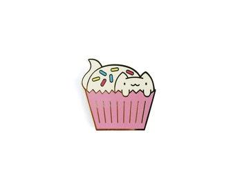 CatCake with Sprinkles • Hard Enamel Lapel Pin