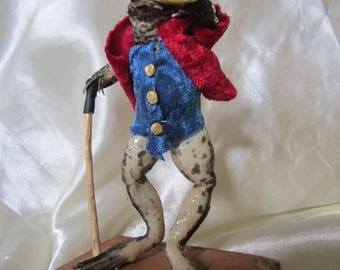 taxidermy frog dandy taxidermy frog curiosity oditties