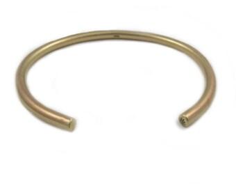 Mens Cuff Bracelet - Bronze Cuff - Mens Gold Cuff Bracelet - Bronze Mens Bracelet - Metalwork Bracelet - Simple Cuff - Ballard Cuff
