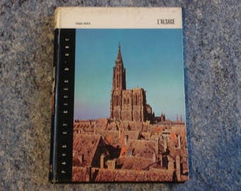 book with color photos and black and white 1967 ELSASS