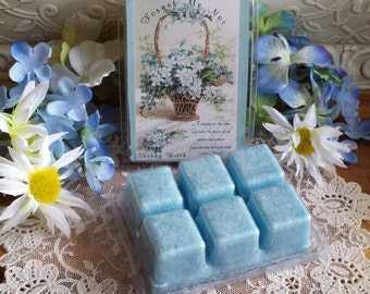 Forget Me Not Soy Tarts, Wax Melts, Soy Melts