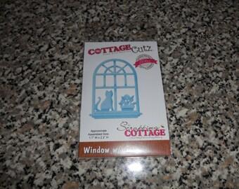 CottageCutz Window with Cat Die