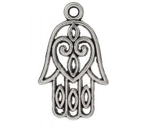 set of 3 charm symbol Hamsa talisman protection money (D07) India