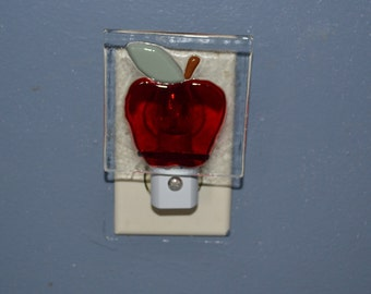 Apple Night Light /  Nursery lighting