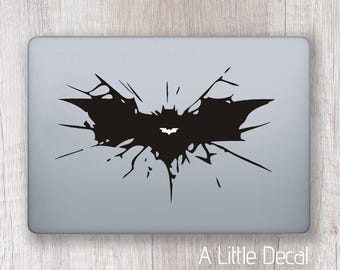 Batman Macbook Decal, Batman Macbook Sticker, Batman Laptop Decal, Batman Laptop Sticker, The Dark Knight, DC Macbook Decal