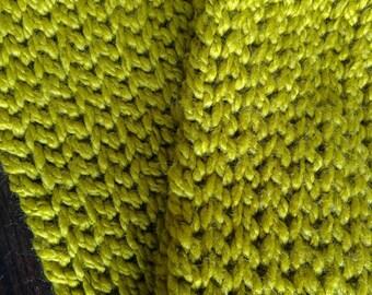 Ichor crochet infinity scarf wool blend