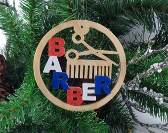 Barber ornament