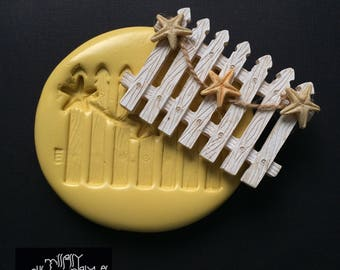 Starfish Fence Silicone Mold