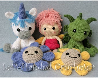 Complete Crochet Fairytale Series *PATTERNS ONLY*