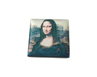 Mona Lisa Painting Pendant Magnet