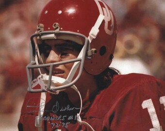 Tinker Owens RARE Oklahoma Sooners AUTHENTIC signed 8x10 photo Nice