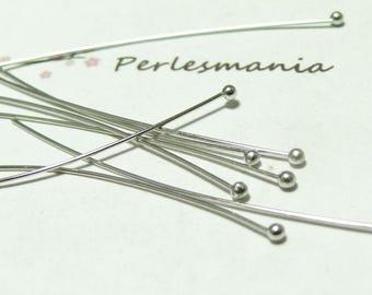 100 top quality PP CH004842 head pins 50cm round