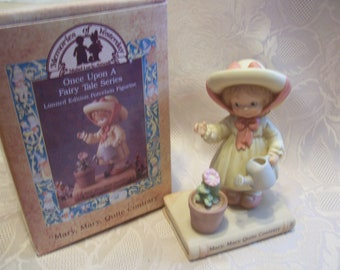 """Memories of Yeaterday """"Mary, Mary, Quite Contrary"""" Figurine, Once Upon A Fairy Tale"""