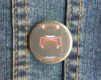 "1.25"" Arcade Fire Neon Bible Badge – Arcade Fire Pinback Button – Arcade Fire Badge – Arcade Fire Pin – Arcade Fire Pinback Button"