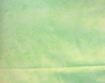 Minty green molted fabric