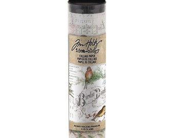 COLLAGE PAPER AVIAR  by Tim HoLTZ -  New and In Stock Now !!