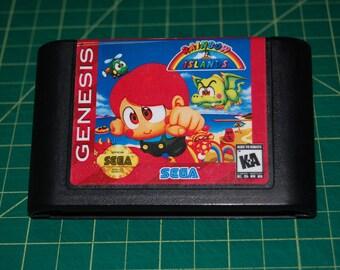 Rainbow Islands -EXTRA- Sega Genesis Repro