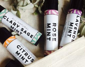 Natural Lip Balm Set
