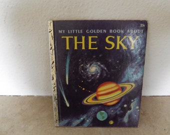 My Little Golden Book About The Sky