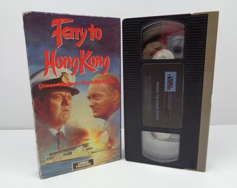 Ferry to Hong Kong VHS Tape