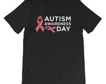 Autism Awareness Day Shirts Men Women Kids Proud Special Support