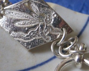 ANGELS are among us fine silver Bracelet