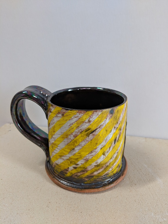 Handmade Ceramic Mug with Bee