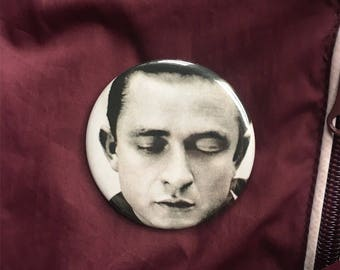 """Johnny Cash 2.25"""" Pin (One-Of-A-Kind)"""