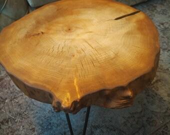 Cherry Tree Live Edge Coffee Table