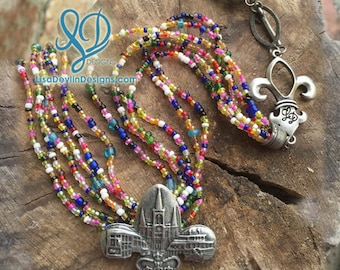 New Orleans Cathedral Jewelry, Fleur De Lis