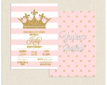 Princess Crown Invitation