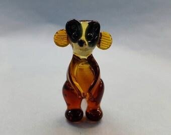 Meerkat Glass Figurine