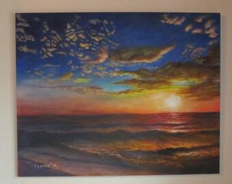 Brown Ocean Waters