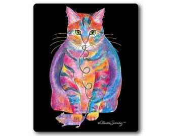 Tabby Fat Cat Mousepad