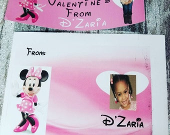 Personalized Valentine's Cards sets of 18