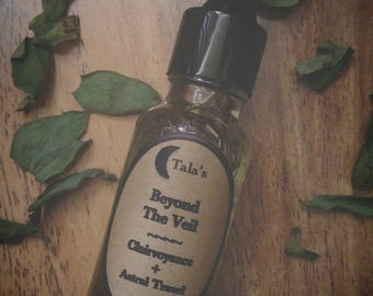 Beyond The Veil Psychic Visions Oil, Flying Oil, Astral Travel, Shamanic Journeying, Spirit Work, Witchcraft