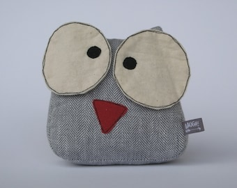 stuffed owl toy, plush owl, owl toy, soft toy owl, handmade owl, owl softie, gufo stoffa, pupazzo gufo, regalo bambin, kid gift, child gift