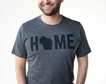 T-Shirt - Wisconsin HOME Men's Tee