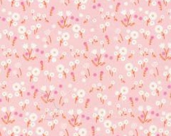 SALE! 1/2 Yard  Stay Gold by Aneela Hoey for Cloud 9 Fabrics- 160505 Marigold Blossom