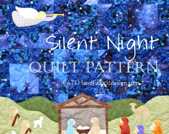 Silent Night - a Christmas Nativity Quilt Pattern